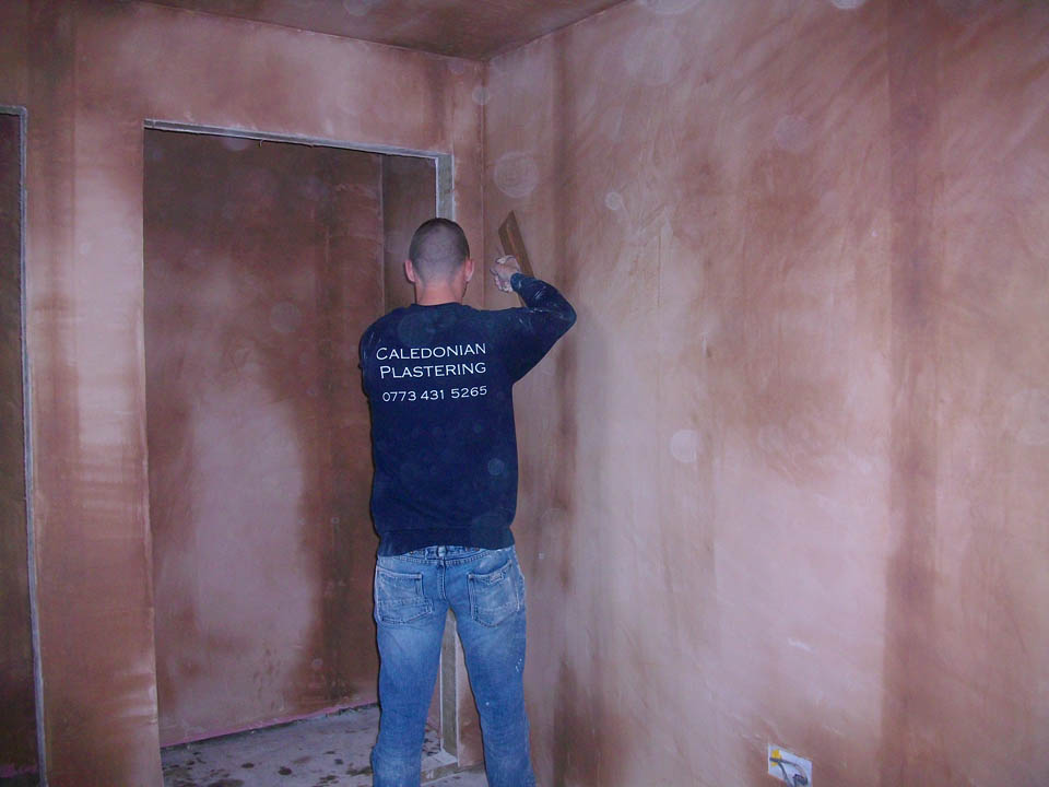 Plasterer in Edinburgh